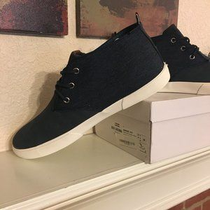 Ben Sherman Bradford chukka sneakers, NIB, navy